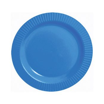 Coloured Round Plastic Plates